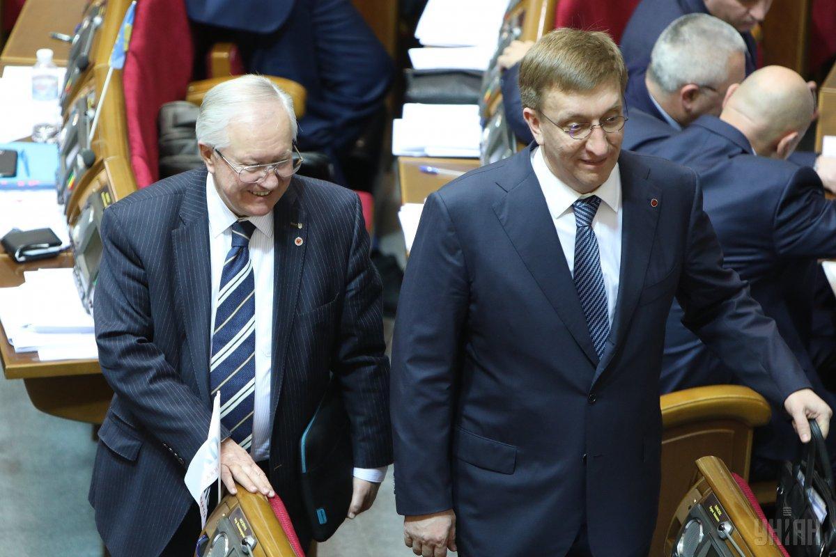 ВладиславБухарєв (праворуч) призначений головою Служби зовнішньої розвідки / фото УНІАН