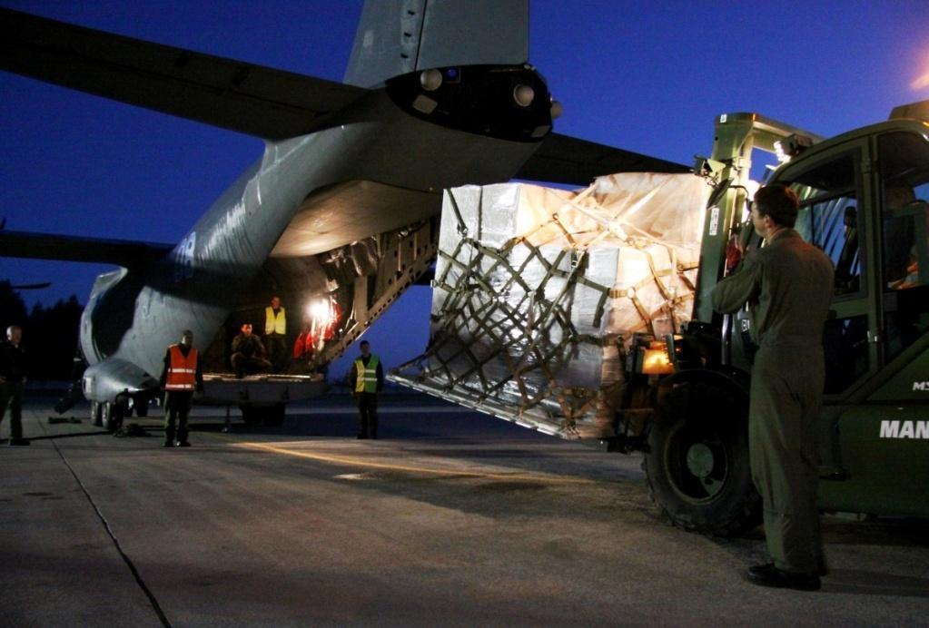 Литва передала Україні майже мільйон одиниць боєприпасів / kam.lt/lt