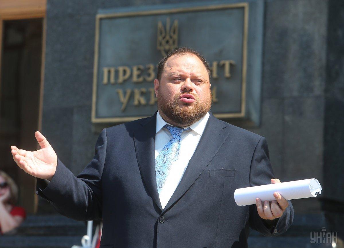 На досрочные выборы ВР, подчеркнул Стефанчук, есть запрос народа / фото УНИАН