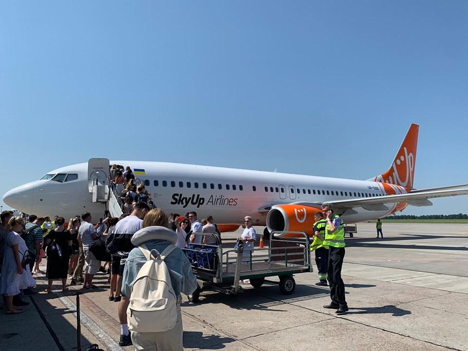 Лоукостер пока работает в обычном режиме / фото SkyUp Airlines, Facebook