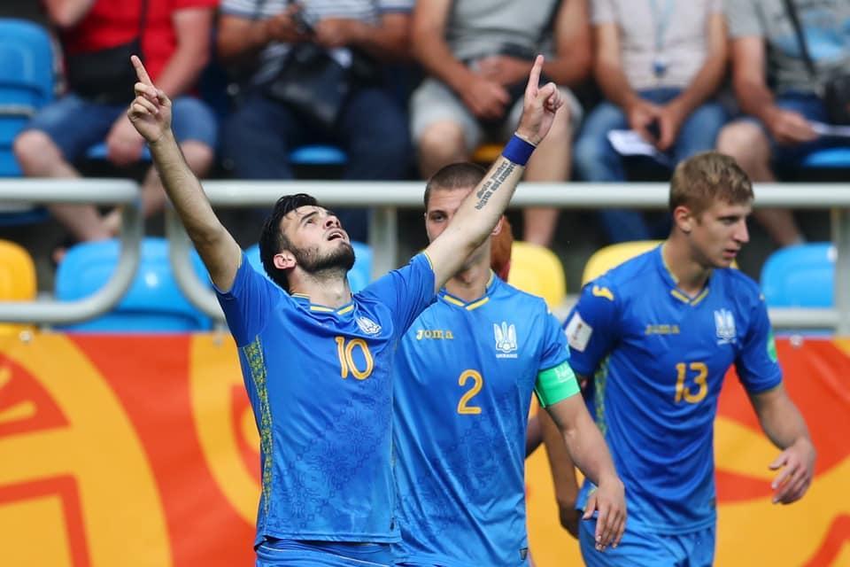 Сборная Украины U-20 сыграет в финале ЧМ-2019 / фото: УАФ