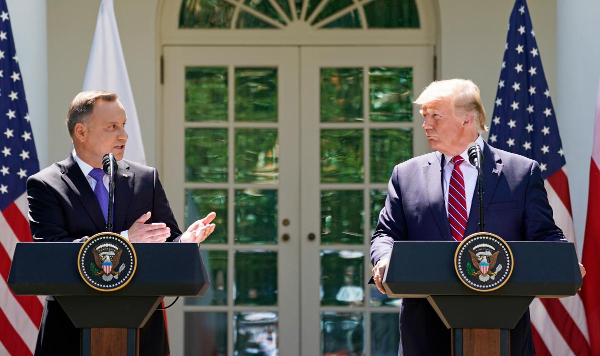 Анджей Дуда и Дональд Трамп / REUTERS