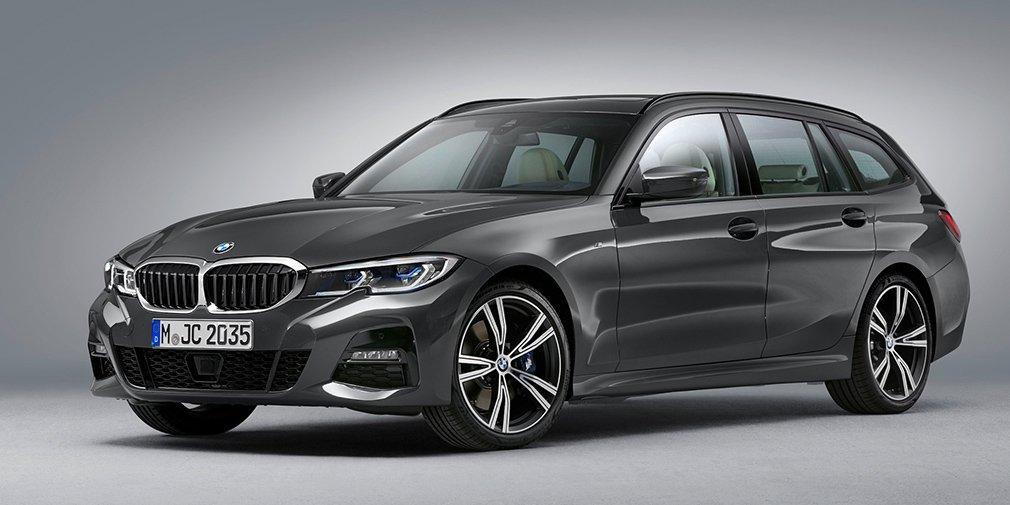 Лінійку двигунів універсал запозичив у однойменного седана / фото BMW