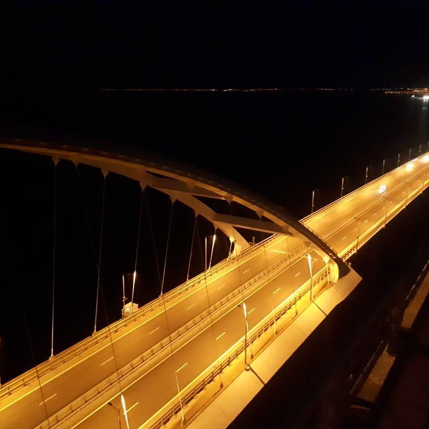 Мост оккупантов пустует / twitter.com/KrimRt