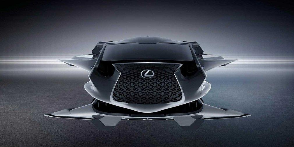 Машина може перетворюватися в міжпланетний корабель / фото Lexus