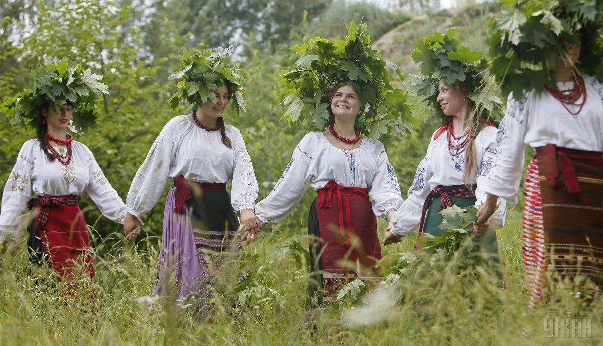 В Україні віздначають трійцю/ УНІАН