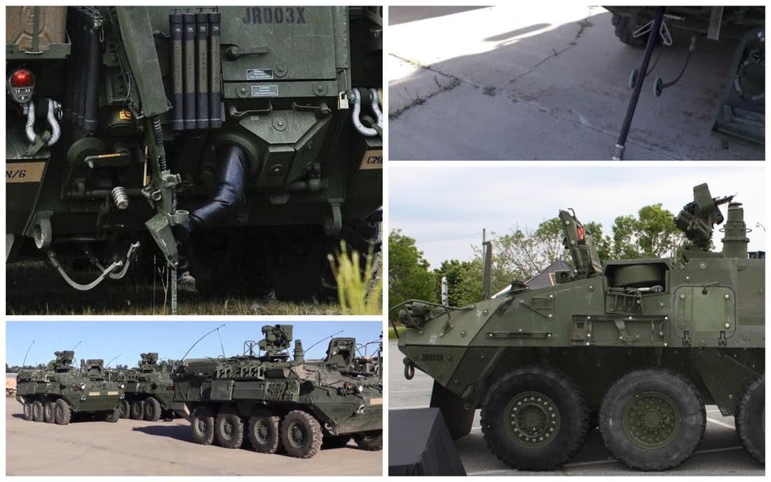 M1135 NBCRV і його датчики забруднення / Фото: НІТ