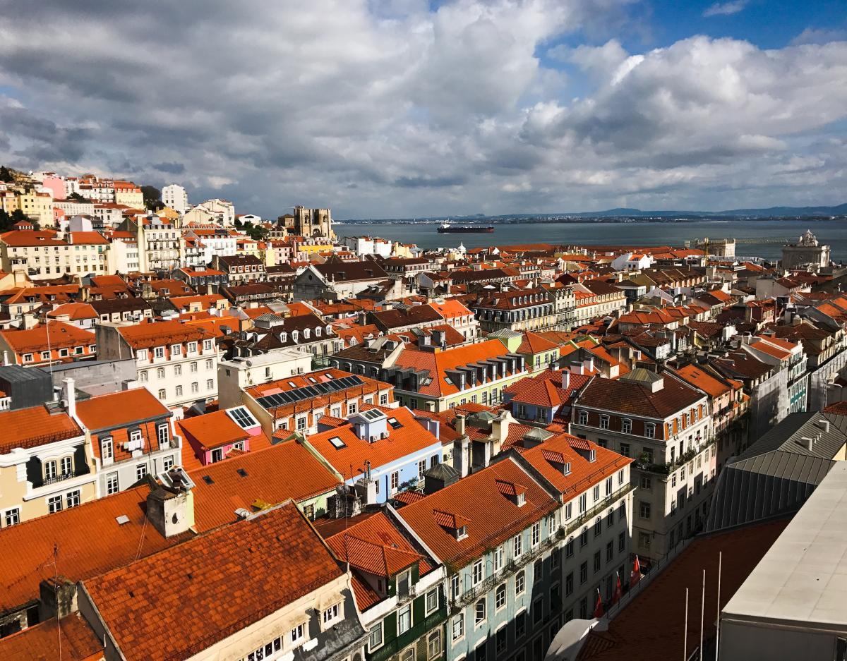 Самым популярным местом отдыха 2019 года признан Лиссабон / фото Wikimedia Commons