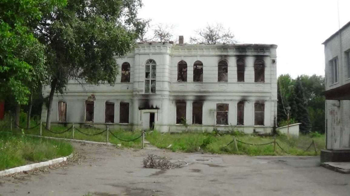 Многие санатории Славянска очень сильно пострадали 5 лет назад / Фото «Славянский курорт»