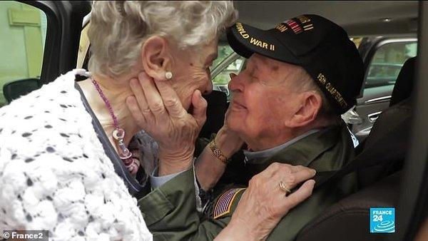 Они встретились и полюбили друг друга в 1944 году/ фото: France 2