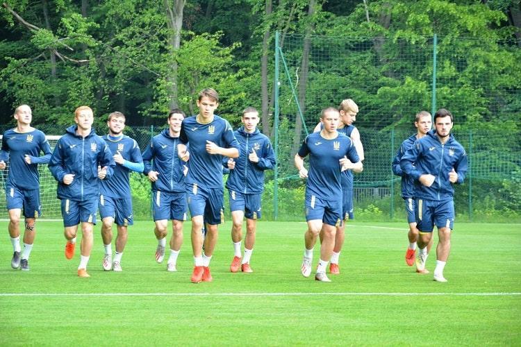 Збірна України U-20 готується до фіналу ЧС / фото: УАФ