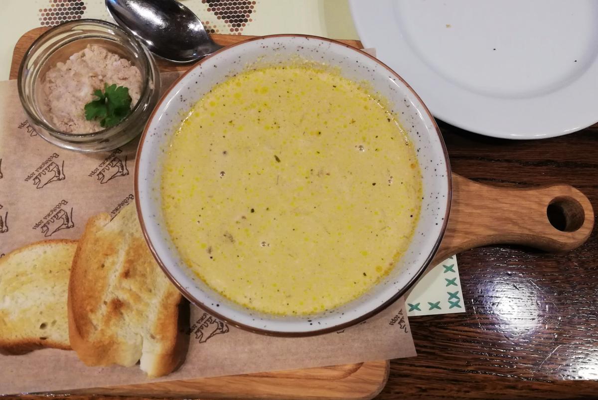 В ресторане «Ведмежа гора» самая вкусная грибная юшка, что я пробовала / Фото Марина Григоренко