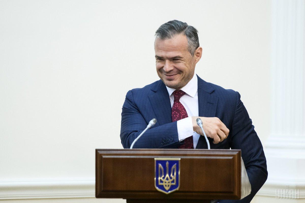 На заседании Кабминавыступил глава «Укравтодора» Славомир Новак / фото УНИАН
