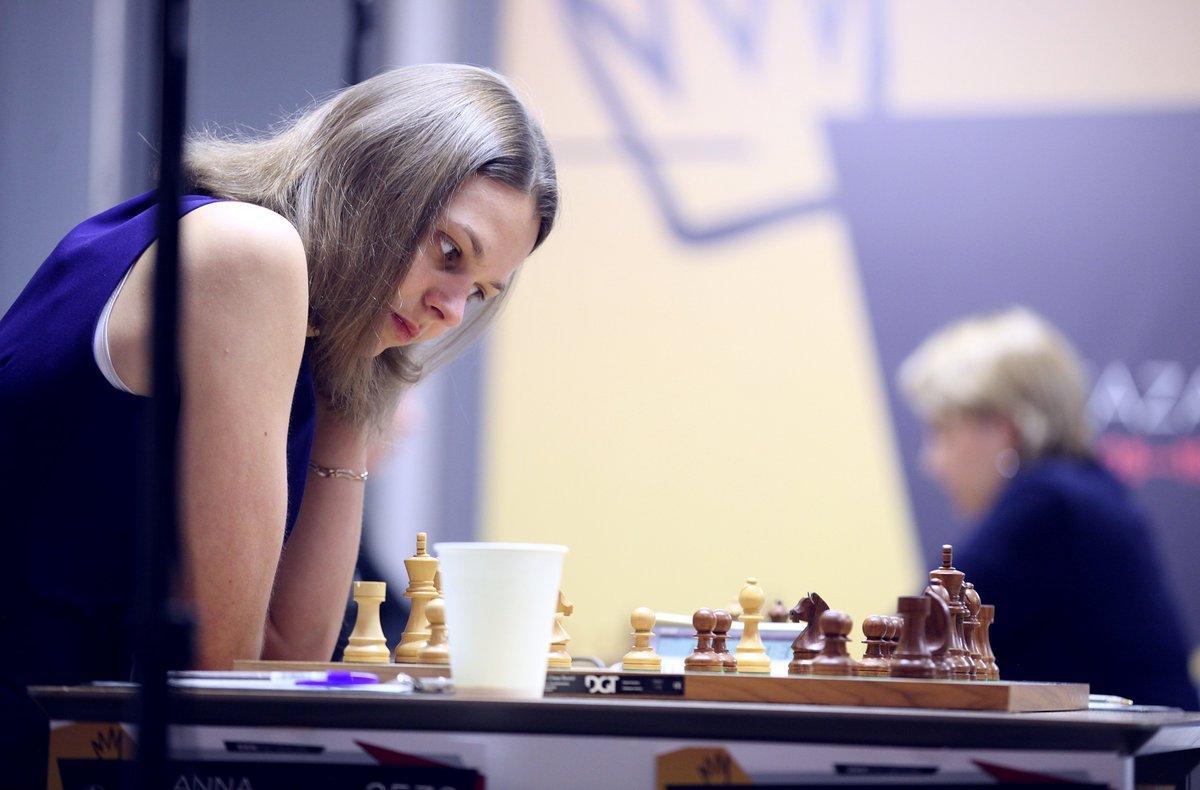 Анна Музычук обыграла Екатерину Лагно и вышла на второе место / фото: twitter.com/fide_chess