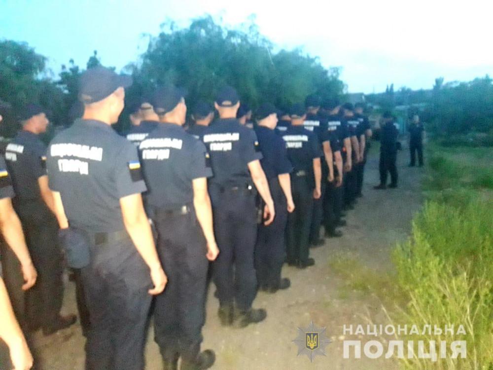 В поисках ребенка задействован весь личный состав полиции Ивановского отдела полиции / фото: пресс-служба полиции