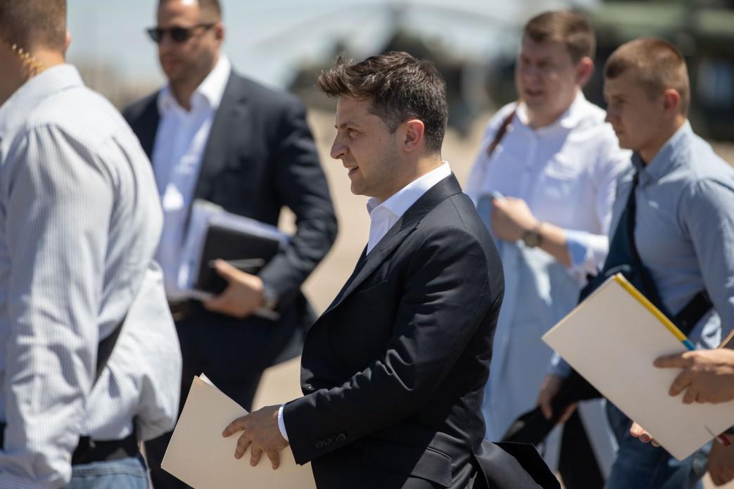 Зеленський анонсував підготовку реформаторських законів, що сприятимуть розвитку малого та середнього бізнесу / фото president.gov.ua