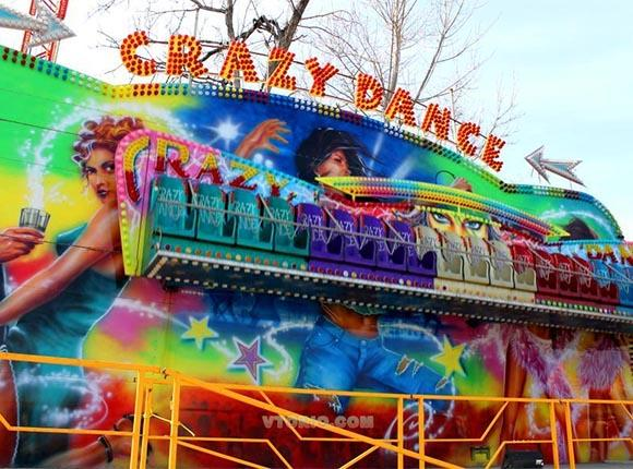 Дитині стало погано на атракціоні Crazy Dance / фото: vtorio.com