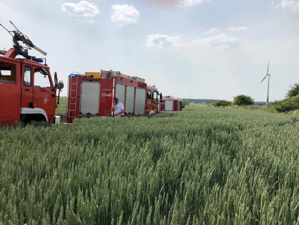 Загиблим пілотом виявився 60-річний німець / фото: Кароліна Береза / RMF FM