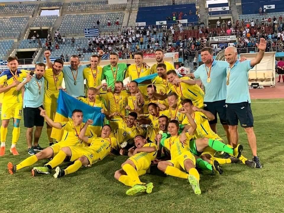 Оба мяча сборная Украины забила после перерыва / фото new.paralympic.org.ua