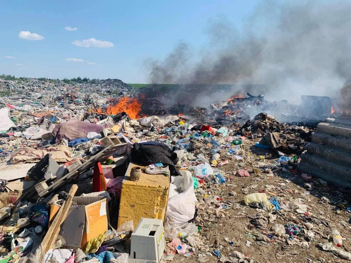 Пожар начался на ул. Новой в с. Весняное / ГСЧС