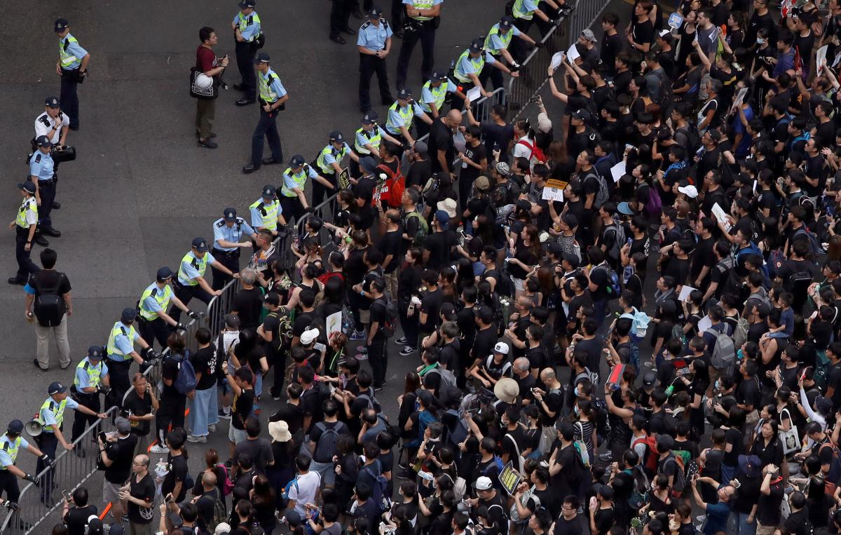 hong kong protest - 22 часа