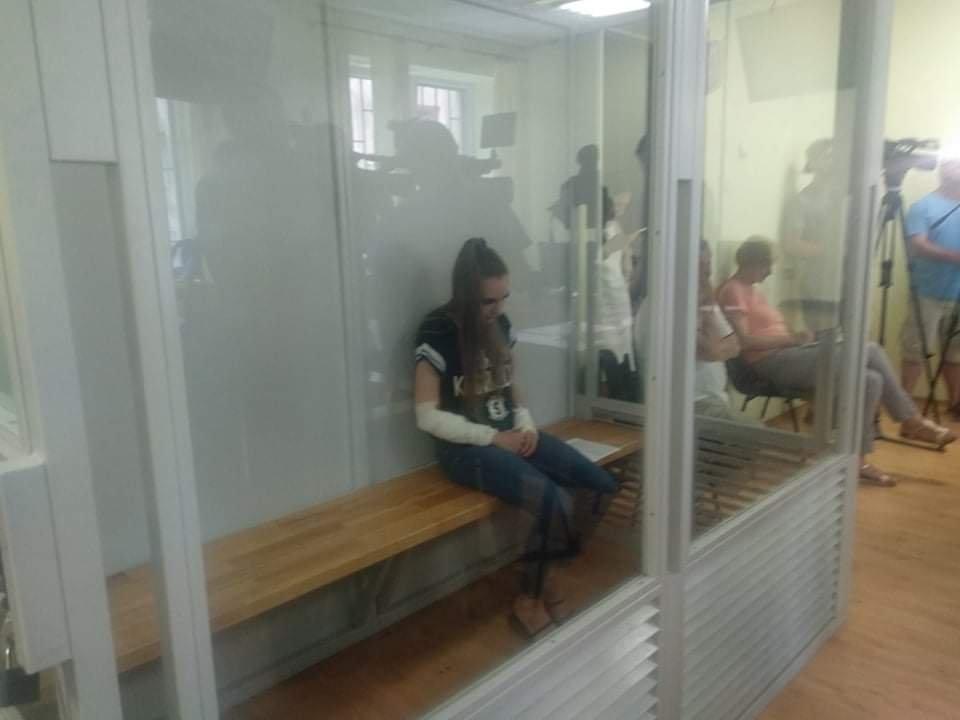 Подозреваемая признала вину / фото zakarpattya.net.ua