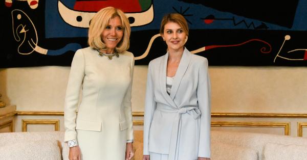 Елена Зеленская прибыла с президентом в Париж / Пресс-служба президента Украины