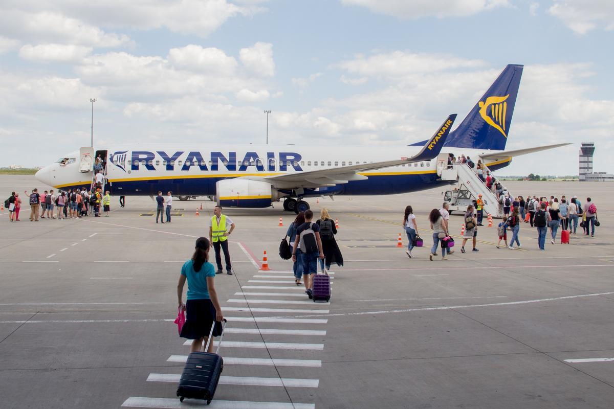 Ryanair совершил первый рейс из Харькова / фото facebook.com/hrk.aero