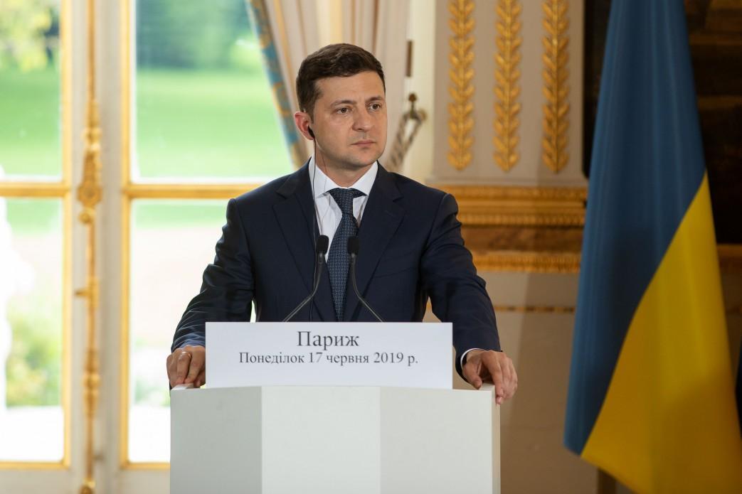 Зеленский добавил, что его цель - вернуть мир в Украину / фото: АП