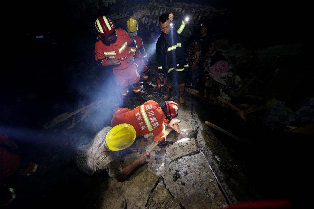 В Китае произошло землетрясение / REUTERS