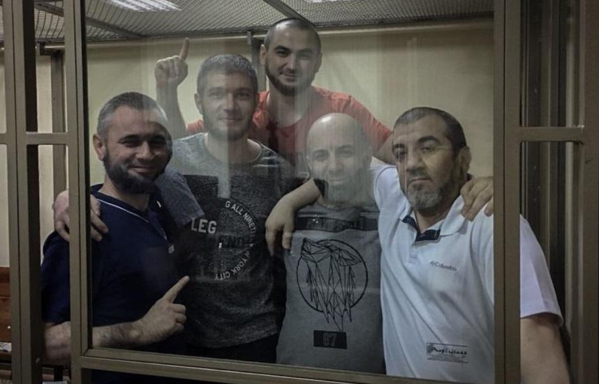 Five Crimean Tatars sentenced on  extremism charges / Photo from Crimean Solidarity