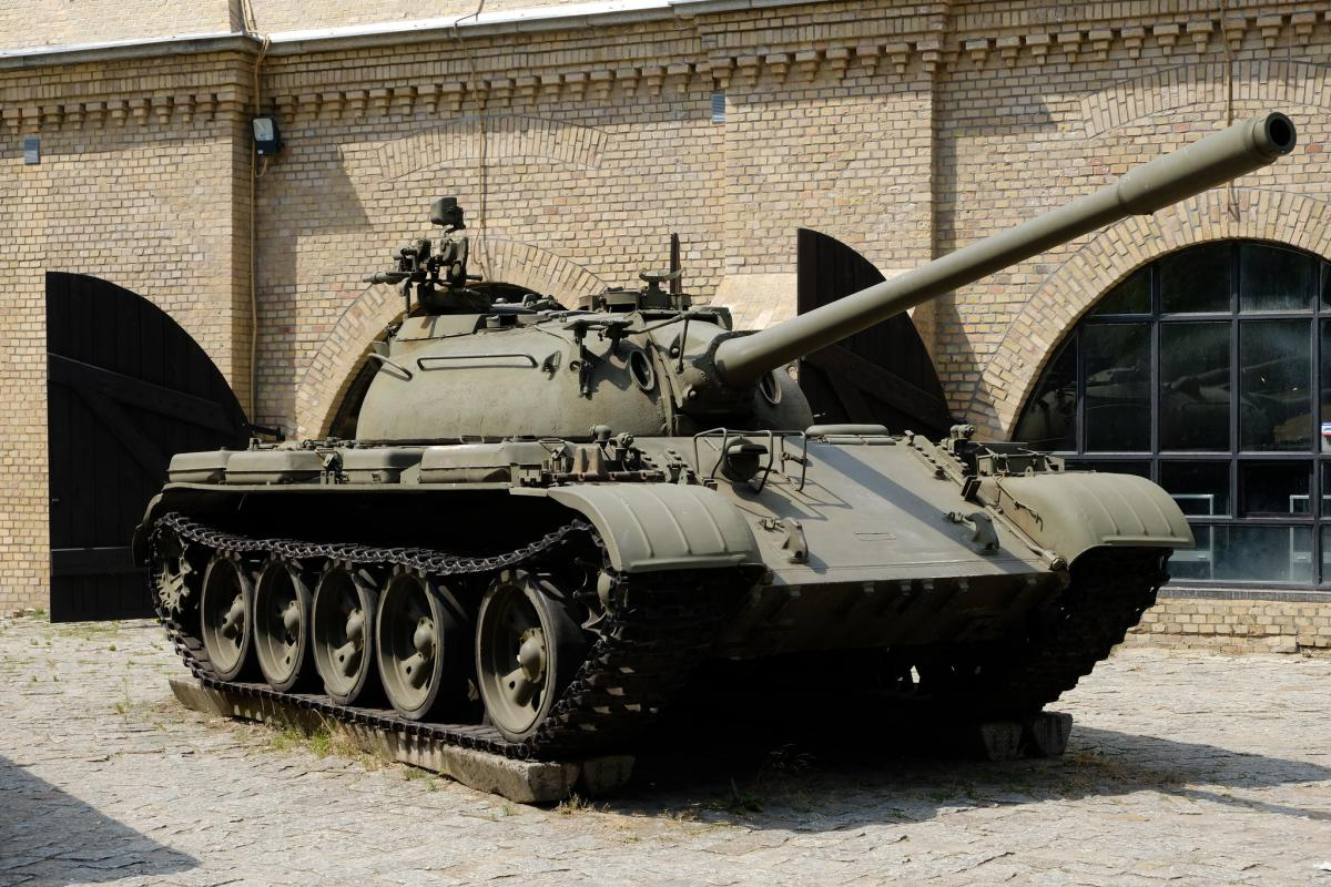 """В Польше танк Т-55 похитил пьяный """"танкист"""" / Flickr/270862"""