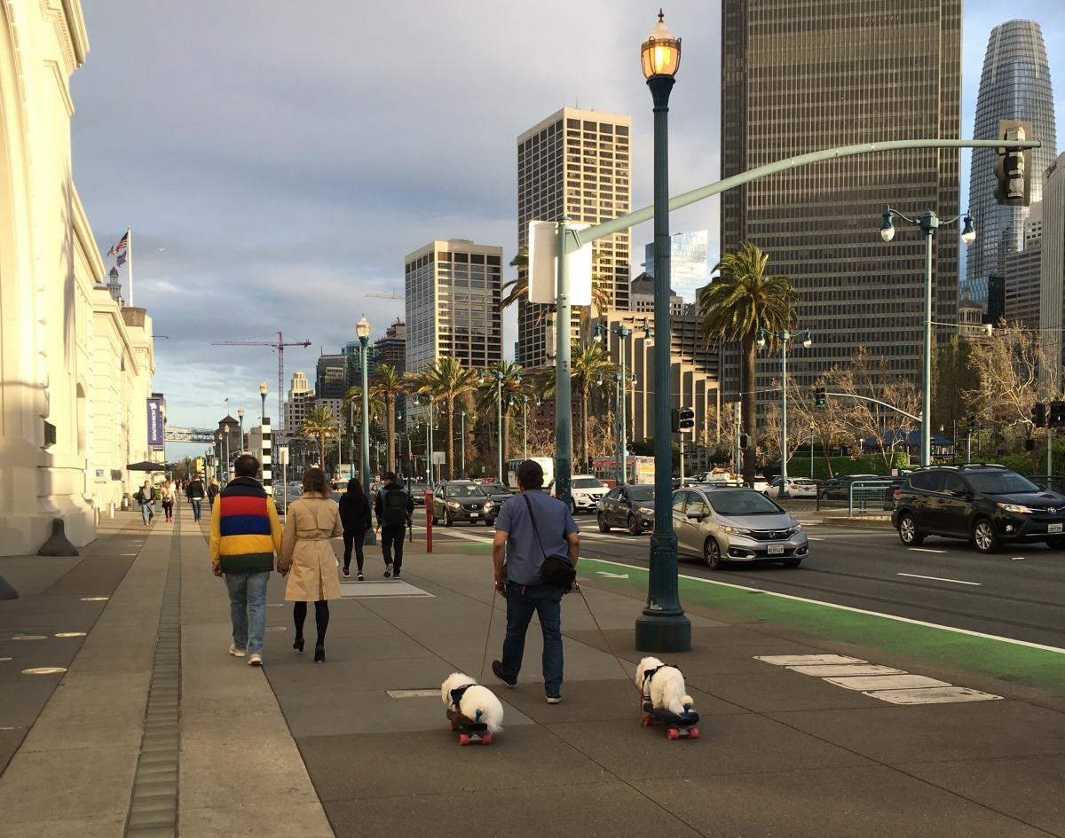 Американські міста - дуже зручні / Фото Ольга Семиляк