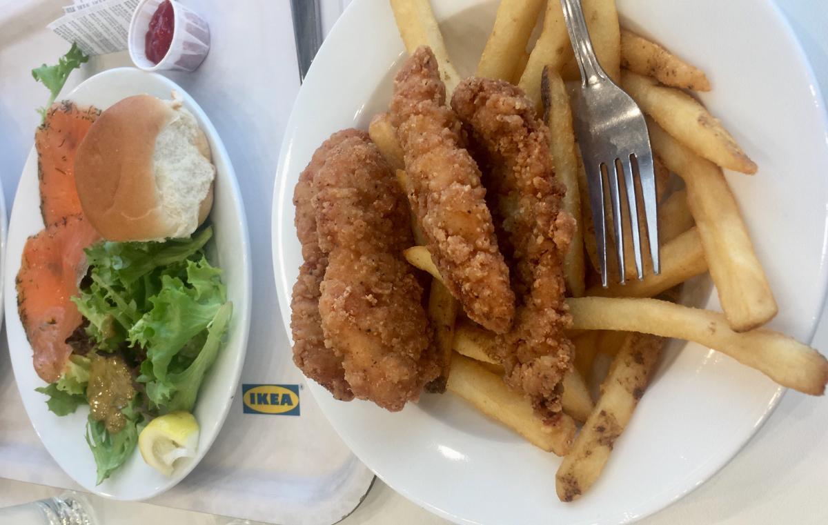 В Америці можна вибрати їжу на будь-який смак / Фото Ольга Семиляк