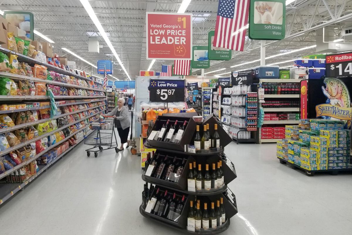Американські супермаркети просто гігантські / Фото REUTERS