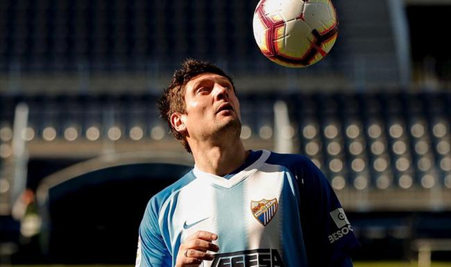 Евгений Селезнев не забил в Малаге ни одного гола / фото: Malaga CF