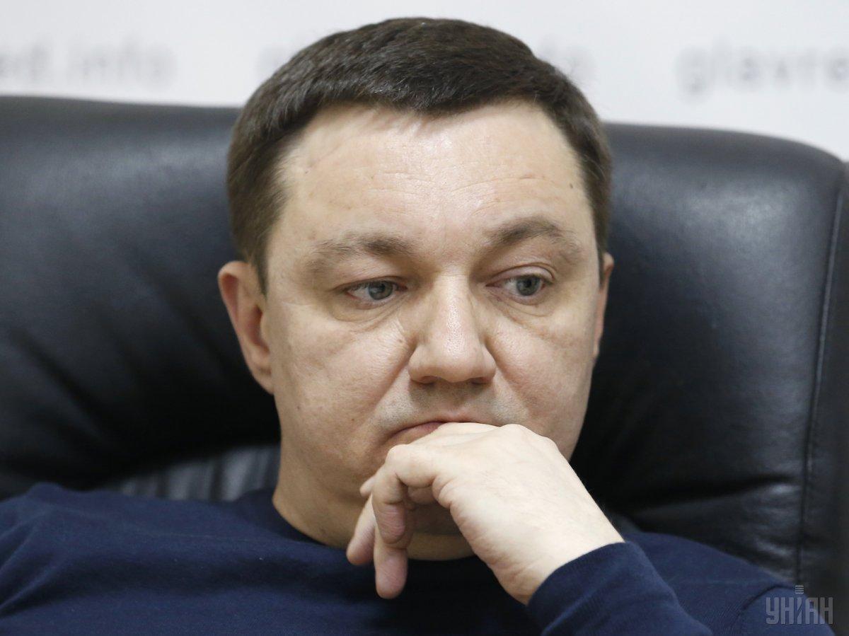 По информации журналистов, депутат не чистил,а игрался оружием / фото УНИАН