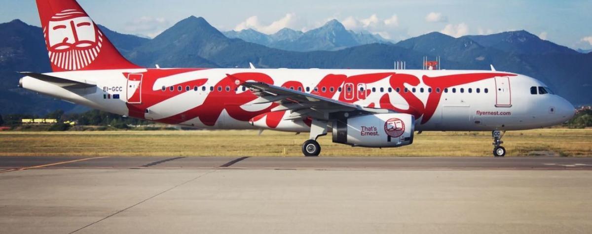 В 2018 году Ernest Airlines перевезла более 200 тыс. украинских пассажиров / фото: flyernest.com