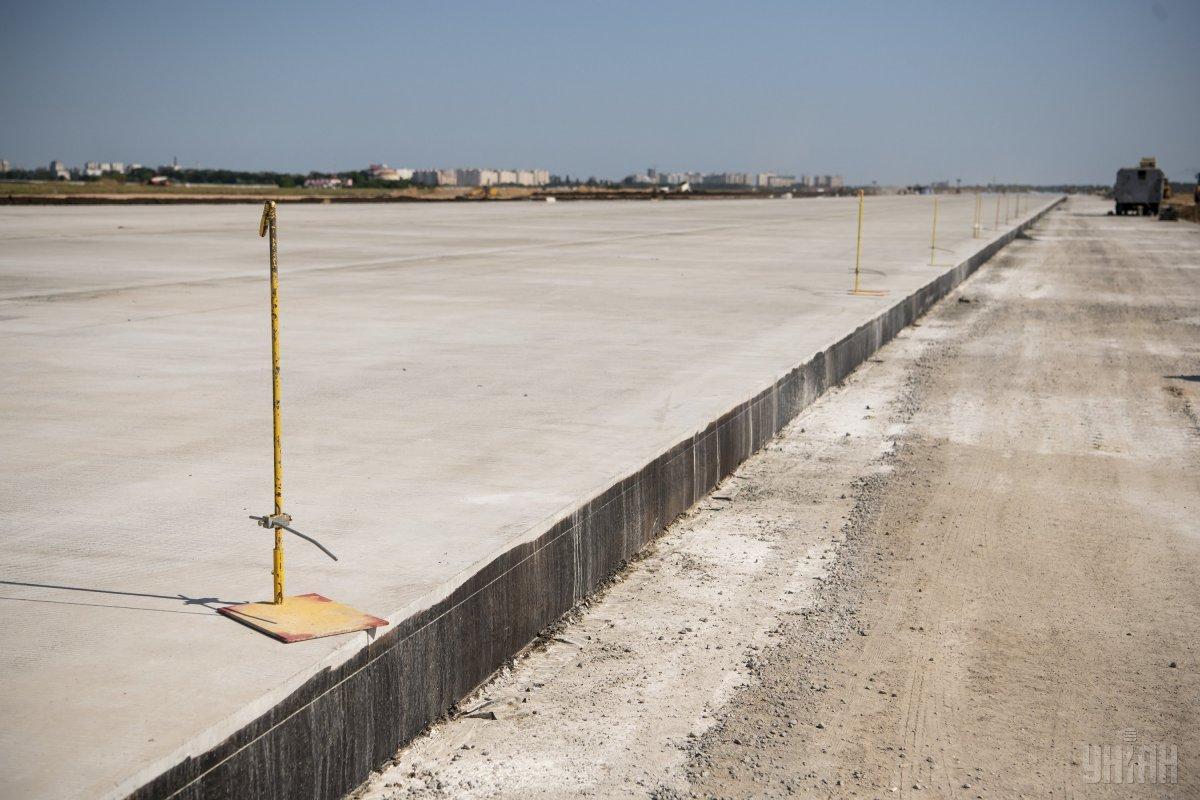 Аэропорт в Днепре ожидает реконструкции / Фото УНИАН