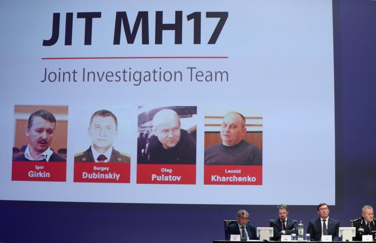 Гіркін, Дубинський, Пулатов та Харченко не беруть участі у суді щодо справи MH17/ REUTERS