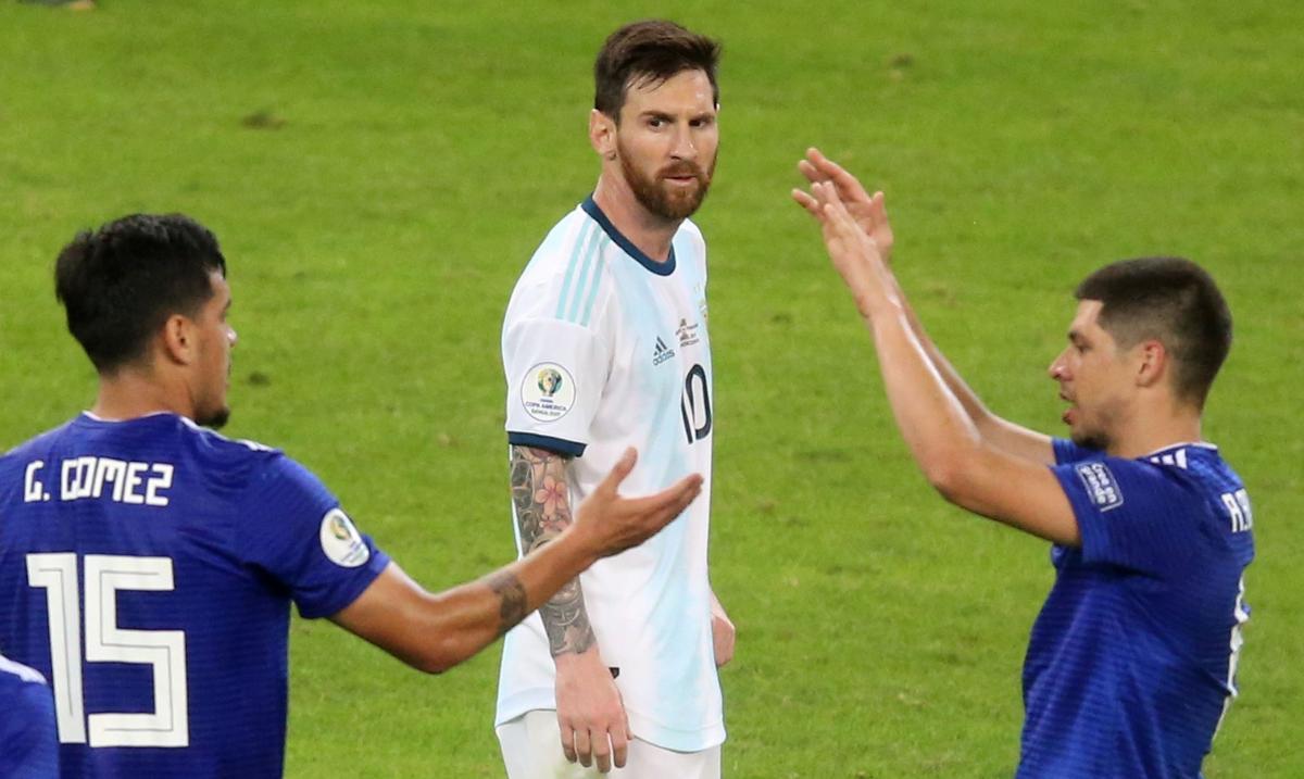 Аргентина - Парагвай / REUTERS