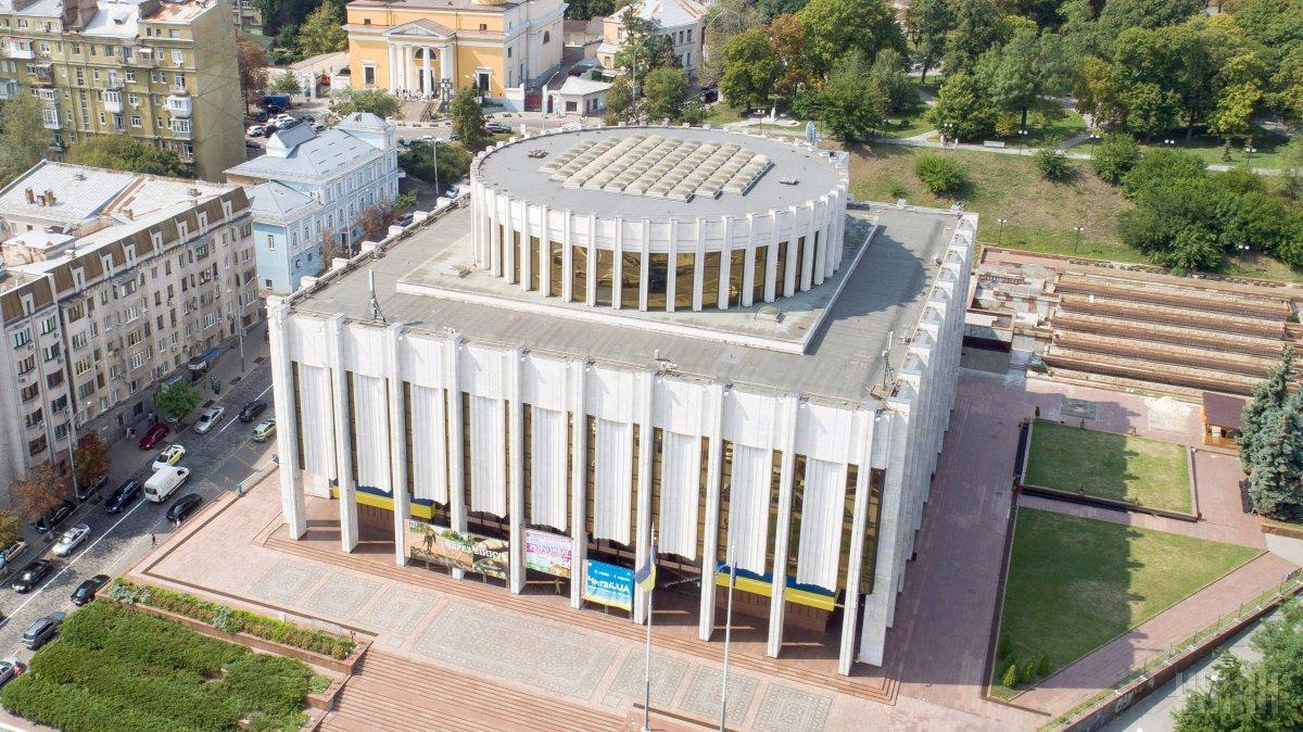 Зеленский хочет перенести Офис президента в Украинский дом/ фото УНИАН