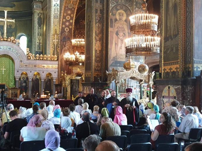 Почесний патріарх Філарет проводить «собор» для відновлення УПЦ Київського патріархату / фото Романа Романюка, АП