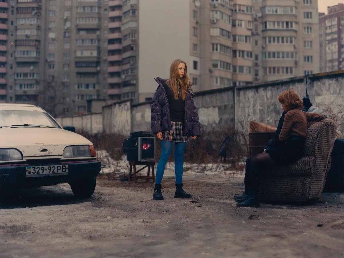 Режисер показав своє бачення життя молоді на Троєщині / кадр із фільм/officiel-online.com