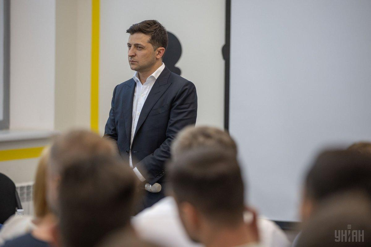 Zelensky says the oligarchs will sponsor both social and humanitarian projects / Photo from UNIAN