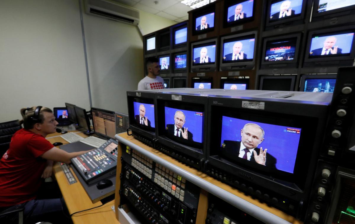 Як Москва намагається обгрунтувати у ЗМІ концентрацію військ на кордонах з Україною / REUTERS