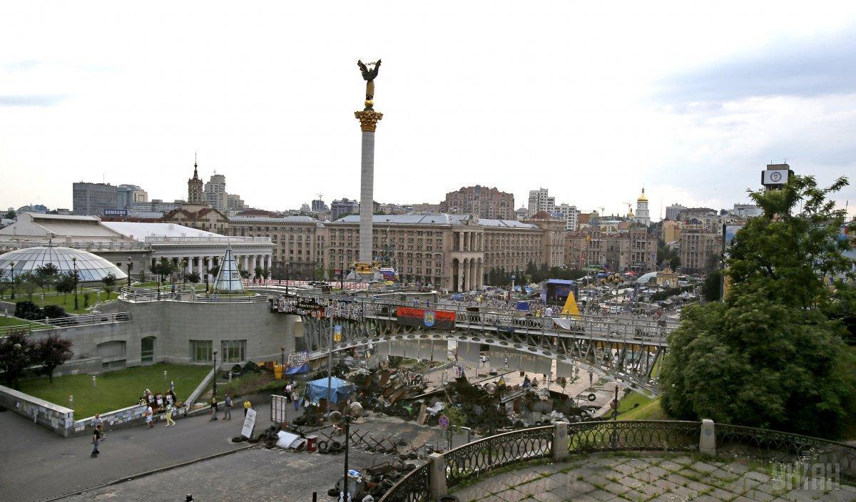 На часть улицы Институтской наложили арест / фото УНИАН