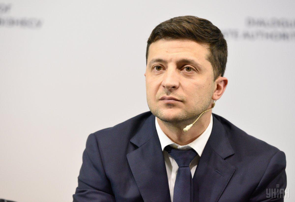 Zelensky thanks the Ukrainian delegation / Photo from UNIAN