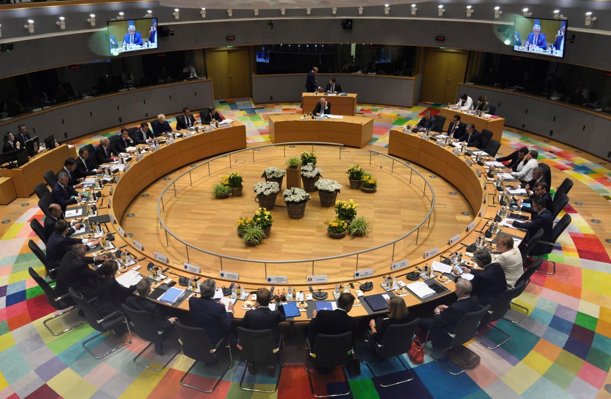 Саммит лидеров ЕС в Брюсселе 20 июня / REUTERS