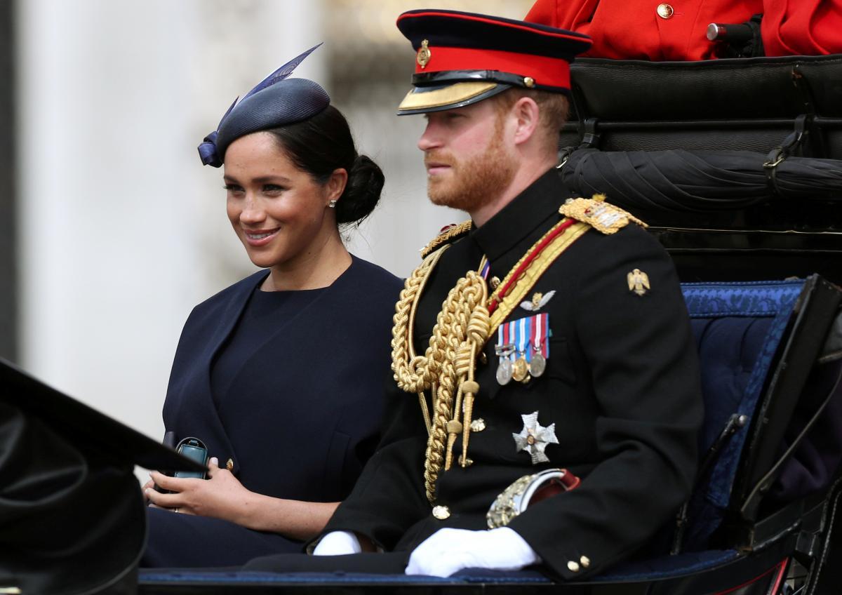 Принц Гарри и Меган Маркл / REUTERS